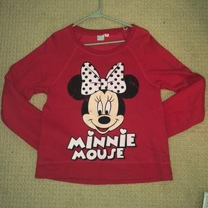 Minnie Mouse Crew Neck Sweatshirt